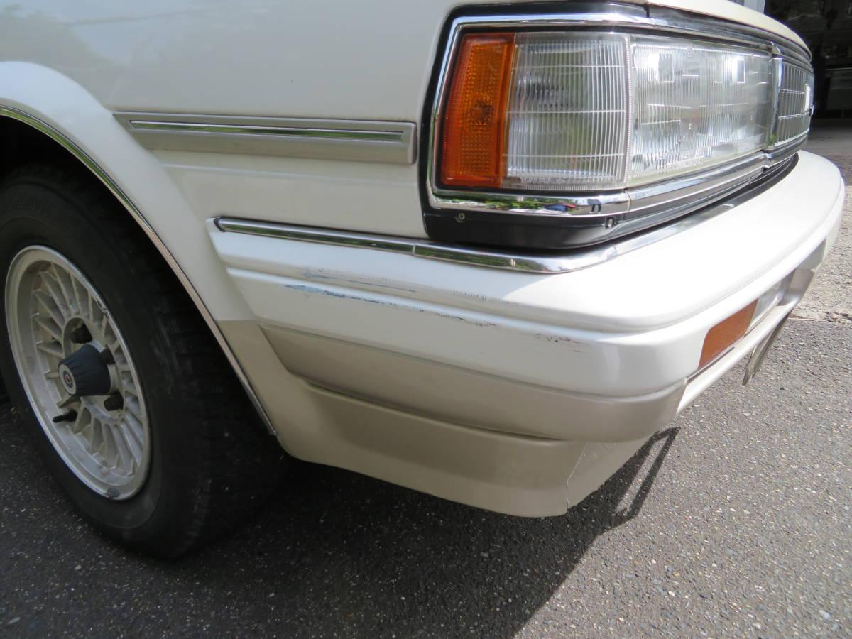 トヨタ クレスタ スーパールーセント ツインカム 24 1G A/T 昭和62年 60243㎞ ワンオーナー車 旧車_擦り傷有ります