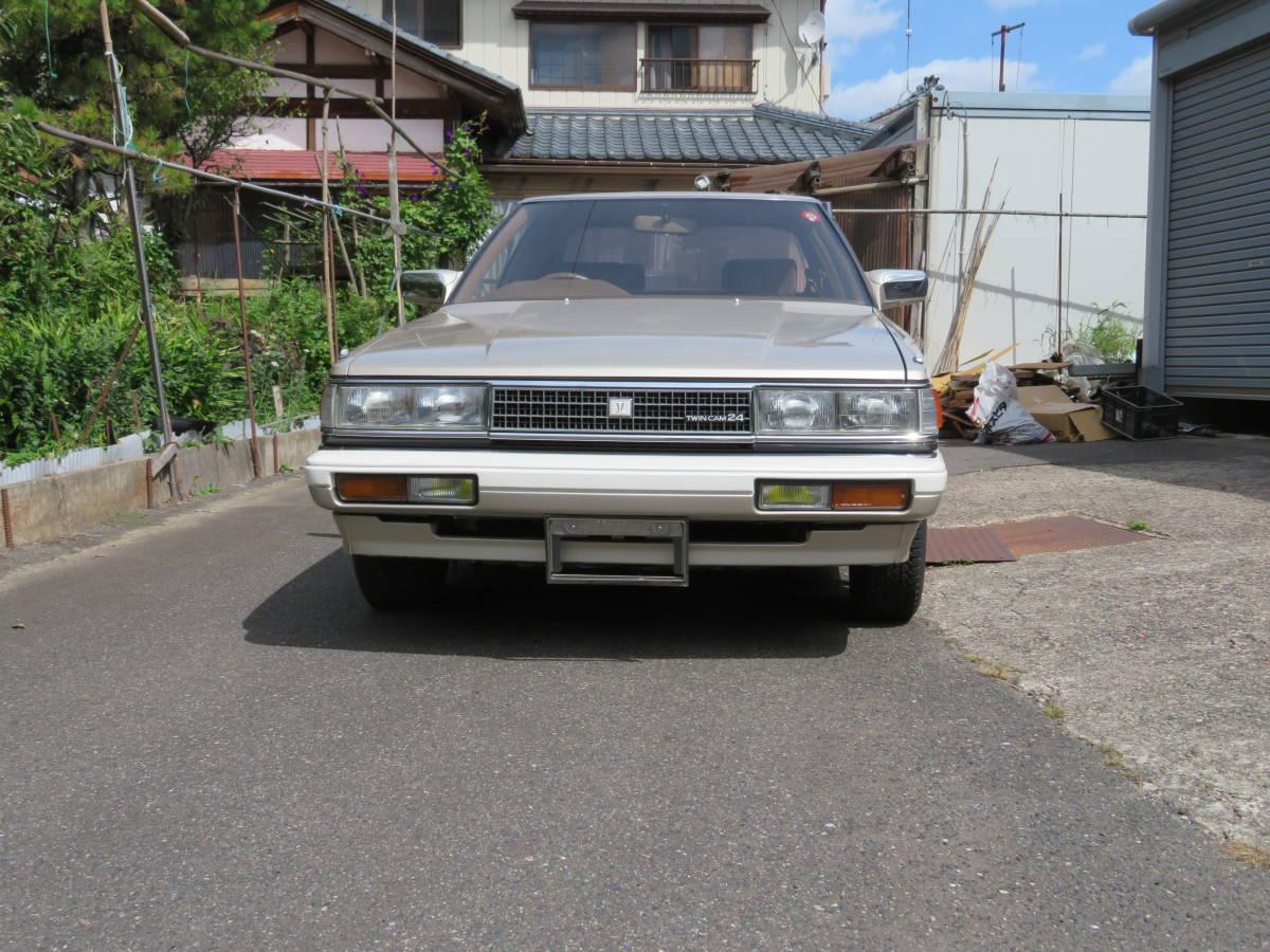 トヨタ クレスタ スーパールーセント ツインカム 24 1G A/T 昭和62年 60243㎞ ワンオーナー車 旧車_画像3