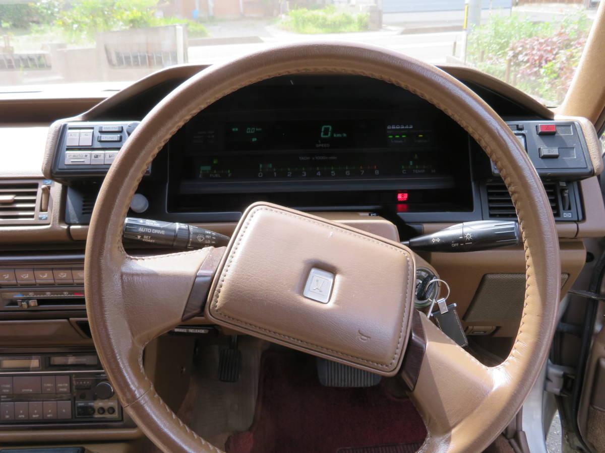 トヨタ クレスタ スーパールーセント ツインカム 24 1G A/T 昭和62年 60243㎞ ワンオーナー車 旧車_画像6