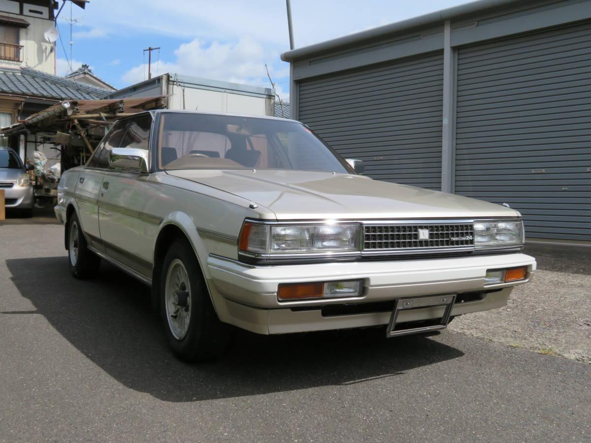 トヨタ クレスタ スーパールーセント ツインカム 24 1G A/T 昭和62年 60243㎞ ワンオーナー車 旧車_画像2