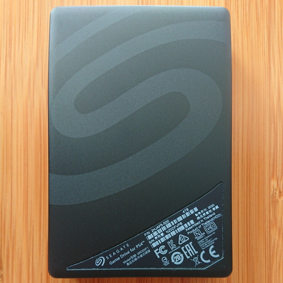 Seagate ポータブルHDD 4TB STGD4000400