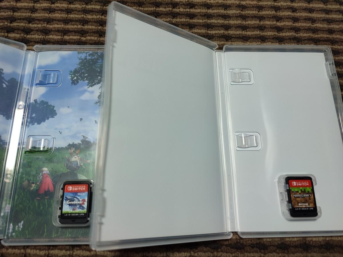【Switch】ゼノブレイド2  マインクラフト 2本セット