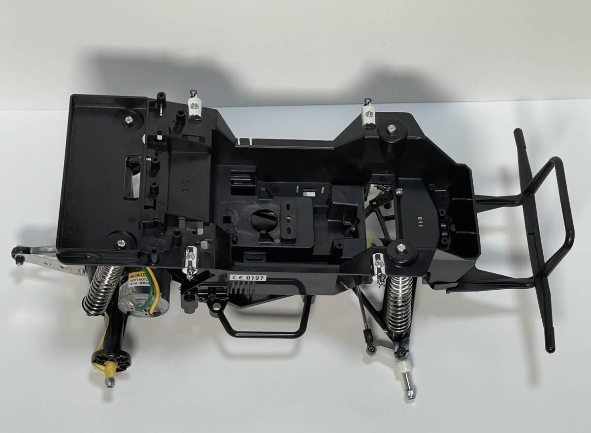 送料無料 タミヤ ランチボックス CW-01 シャーシ 完成品 XB取り外し品 新品未使用 ミッドナイト パンプキン TAMIYA