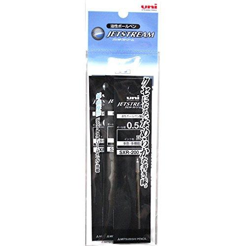 黒 0.5mm 三菱鉛筆 ボールペン替芯 ジェットストリームプライム 0.5 多色多機能 黒 3本 SXR20005.24_画像2