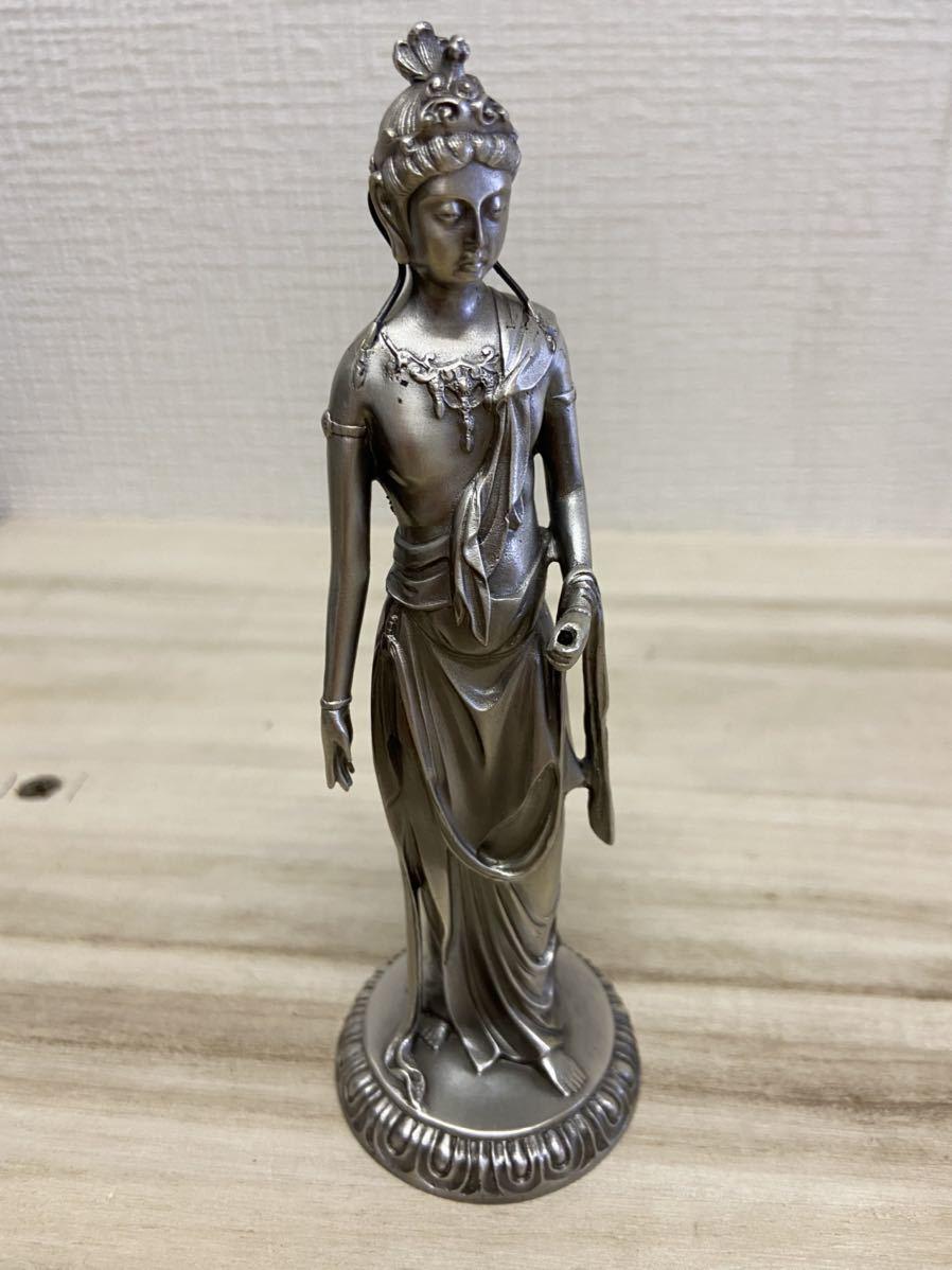 仏教美術 高村光雲 原型 工芸品 仏像 銀製 高さ 12.5cm 重さ233g
