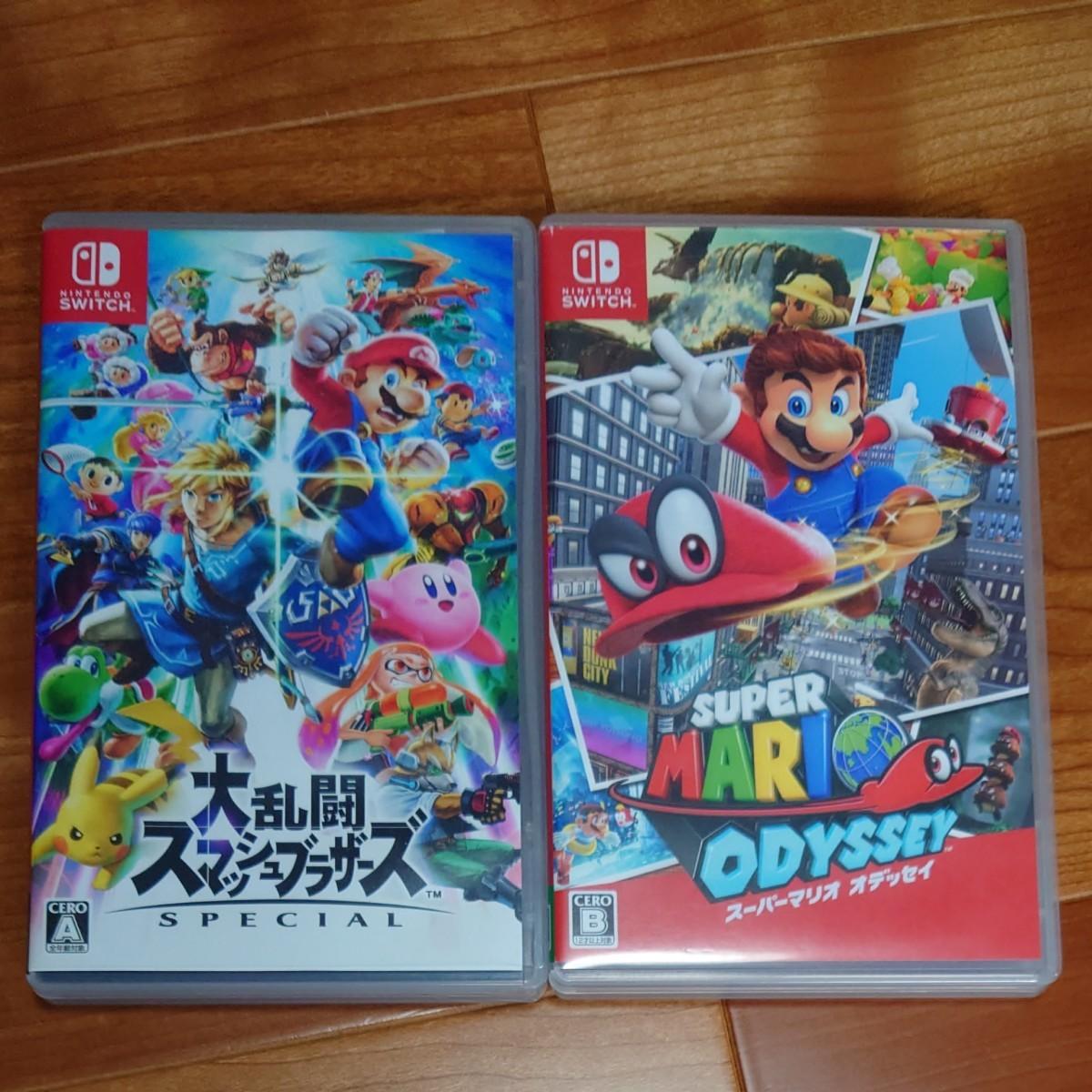 Nintendo Switch 大乱闘スマッシュブラザーズSPECIAL スーパーマリオオデッセイ セット