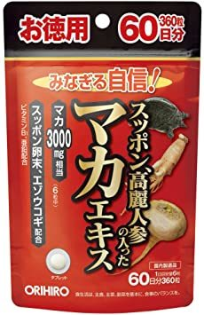 徳用360粒 オリヒロ スッポン 高麗人参の入ったマカエキス 徳用360粒_画像1