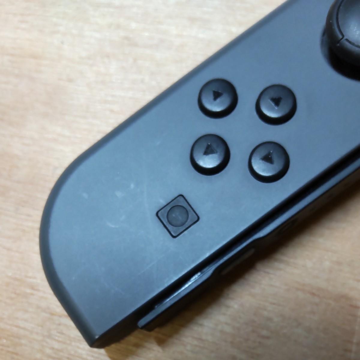 ニンテンドースイッチ ジョイコン 左 グレー Nintendo Switch Joy-Con (L) 動作良好 修理済 保証付