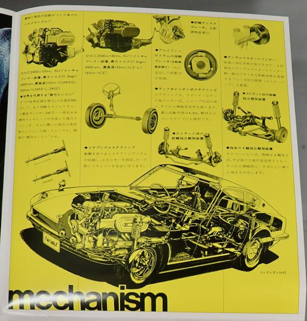 ★旧車カタログ ニッサン フェアレディ240Z フェアレディZ★_画像4