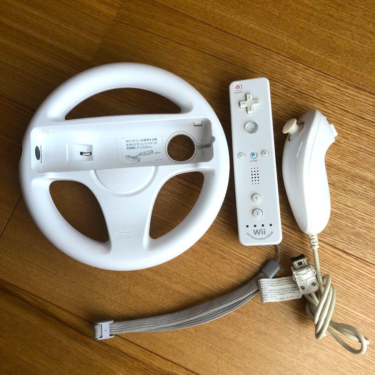 WiiU Nintendo マリオカート8 シロ 付属品 ソフト Wii マリオカート 任天堂Wii ニンテンドー