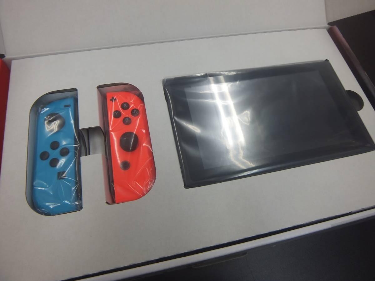 【新品・未使用品】Nintendo Switch 本体 (ニンテンドースイッチ) Joy-Con(L) ネオンブルー/(R) ネオンレッド★フィルムおまけ付き!☆彡_画像6