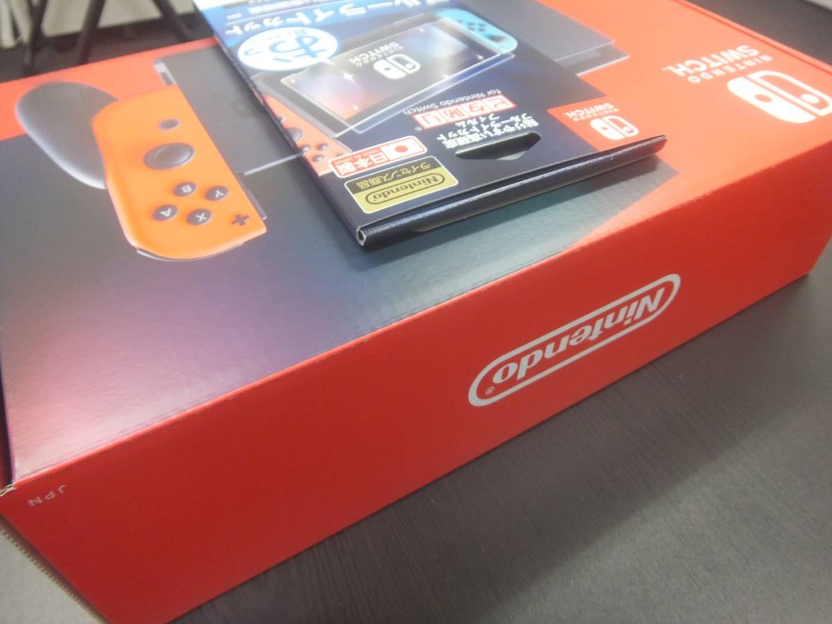 【新品・未使用品】Nintendo Switch 本体 (ニンテンドースイッチ) Joy-Con(L) ネオンブルー/(R) ネオンレッド★フィルムおまけ付き!☆彡_画像10