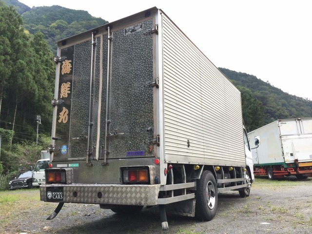 「静岡発 H15 ジェネレーション キャンター 標準 アルミバン 保冷バン パネルバン 2トン トラック 全国納車 格安車検 4M51@車選びドットコム」の画像2
