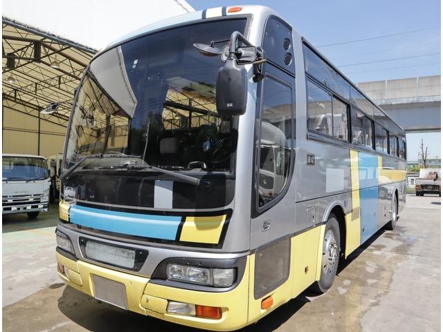 「平成19年 日産ディーゼル スペースアロー 観光バス 62人乗り 総輪エアサス@車選びドットコム」の画像1