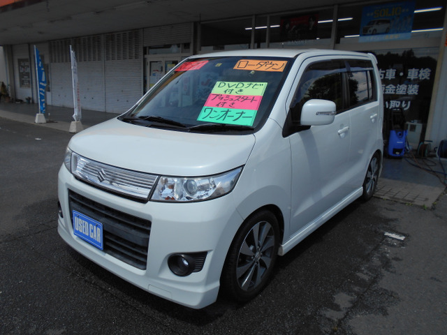 「返金保証付:☆福岡発☆ 平成24年 ワゴンRスティングレー@車選びドットコム」の画像3