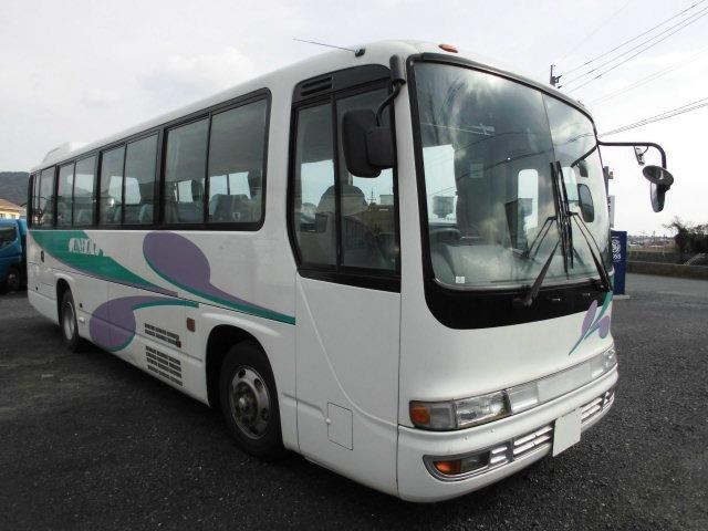 「返金保証付:福岡 北九州 平成18年 いすゞ ガーラミオ 46人乗り 中型バス 自動ドア@車選びドットコム」の画像3