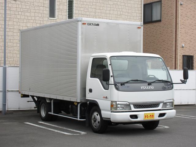 「平成15年 いすゞ エルフ 2t積・ワイドロング・6MT・ゲート付き@車選びドットコム」の画像2