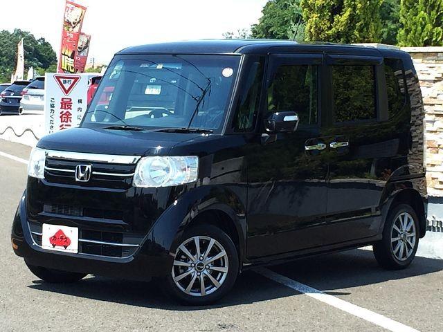 「\全車保証付/ 平成28年 ホンダ N-BOX G Lパッケージ @車選びドットコム」の画像1
