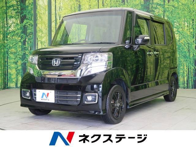 「平成28年 N-BOXカスタム G特別仕様車ターボSSブラックスタイルパッ@車選びドットコム」の画像1