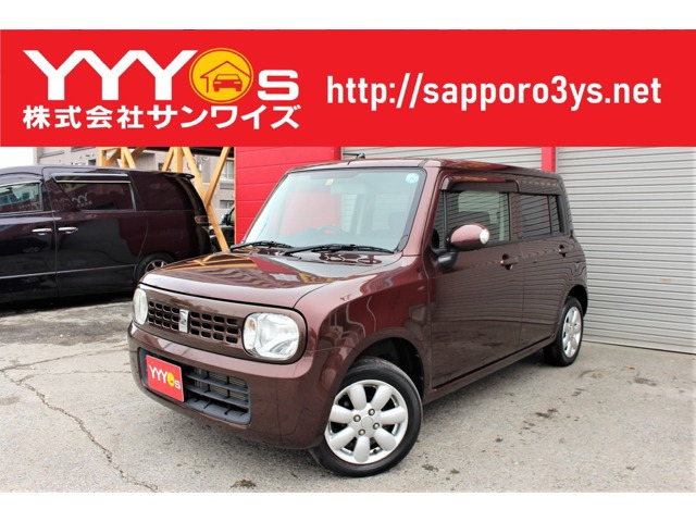 「札幌市の買取店■ 平成23年 アルトラパン X 4WD 1オーナー シートヒーター キーレス@車選びドットコム」の画像1