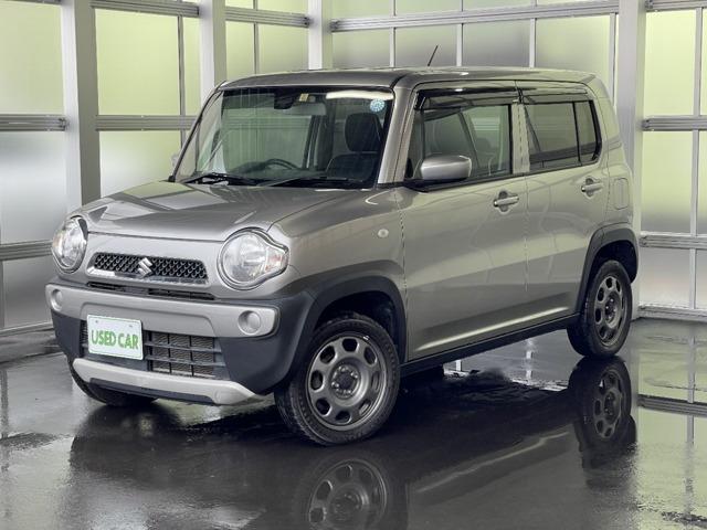 「お買い得車! 平成27年 ハスラー G ターボ 4WD Bluetooth対応オーディオ ア@車選びドットコム」の画像1