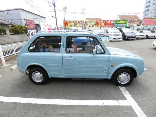 返金保証付:平成1年 日産 パオ ベースグレード 同色全塗済 カヤバショック@車選びドットコム_画像の続きは「車両情報」からチェック