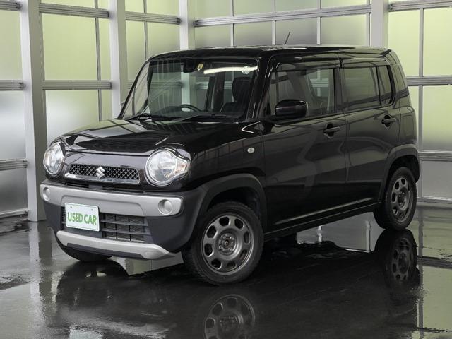 「お買い得車! 平成27年 ハスラー G 4WD ワンオーナー 社外ナビ ワンセグ@車選びドットコム」の画像1