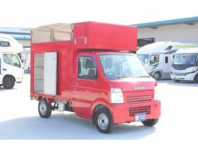「H19 スズキ キャリイ 移動販売車 イカ焼き キッチンカー@車選びドットコム」の画像2