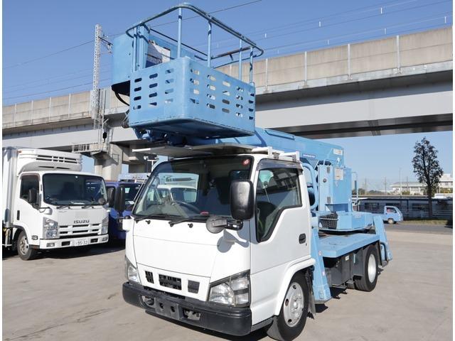 「返金保証付:平成18年 いすゞ エルフ 高所作業車 アイチ 11.9m@車選びドットコム」の画像1
