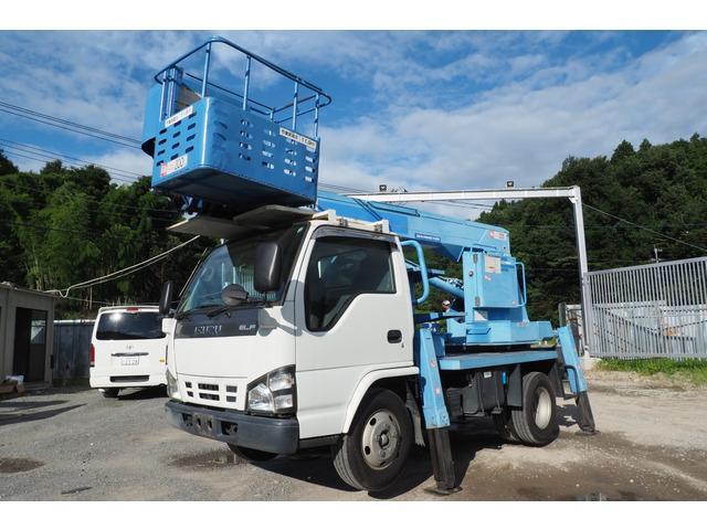 「平成19年 エルフ 高所作業車 アイチ製 SS12 12m フルブーム式@車選びドットコム」の画像1
