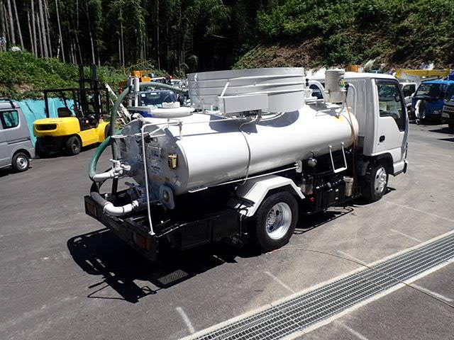 「H18 イスズエルフ 2.7t バキュームカー 糞尿車 衛生車 モリタVBR427H 全塗装済 エンジン整備済 し尿汲取、家畜糞尿処理@車選びドットコム」の画像2