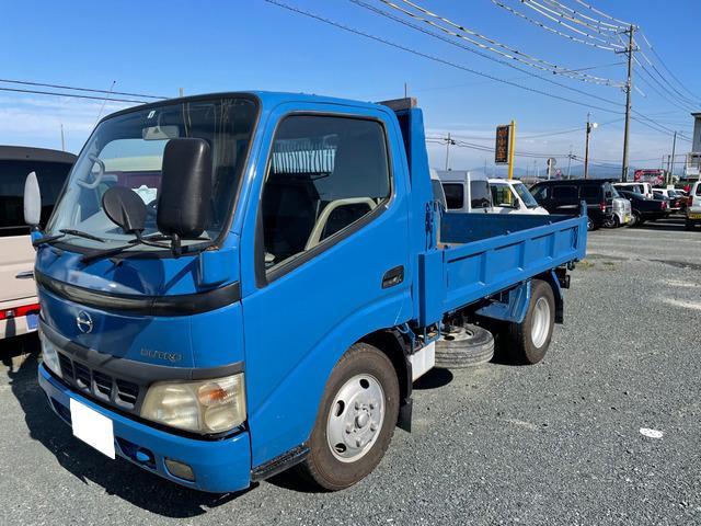 「中古車 静岡県 平成16年 日野 デュトロ ダンプ 5速MT 2WD@車選びドットコム」の画像2