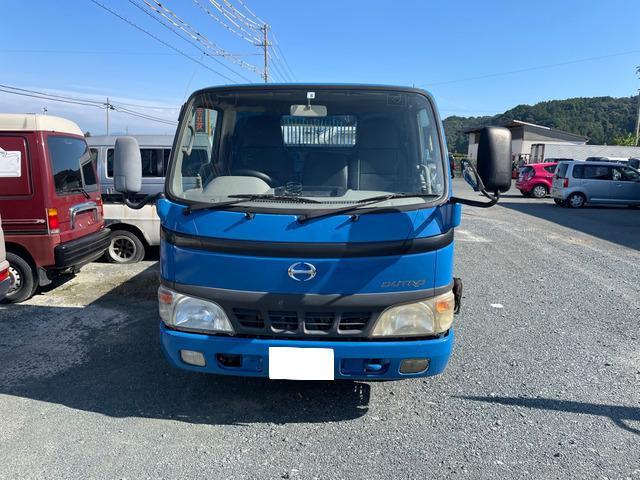 「中古車 静岡県 平成16年 日野 デュトロ ダンプ 5速MT 2WD@車選びドットコム」の画像1
