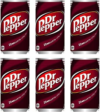 6缶 ドクターペッパー350ml×6缶(コカコーラ)_画像1