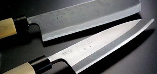 シルバー 貝印 KAI 出刃包丁 関孫六 銀寿 本鋼 150mm 日本製 AK5202_画像3