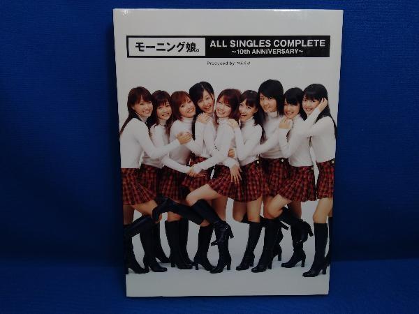 モーニング娘。 CD モーニング娘。ALL SINGLES COMPLETE~10th ANNIVERSARY~(初回生産限定盤)(DVD付)_画像1
