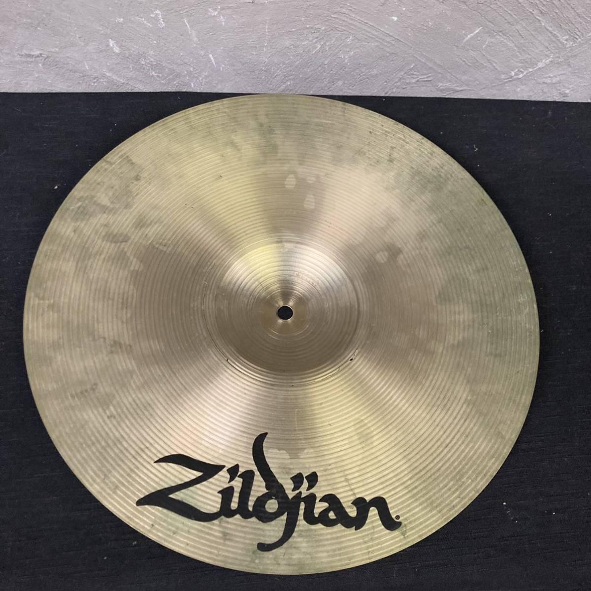 "◯(N3 sa) Zildjian Rock Crash 16"" ジャンク 割れ ジルジャン シンバル ドラム パイステ ケース付き (Ω0360)_画像6"