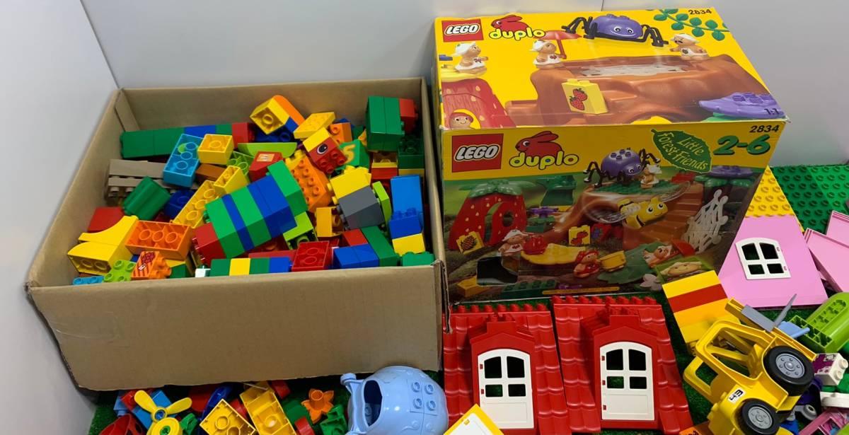 ♪11-160 レゴ LEGO デュプロ duplo ジャンク品 ディズニー Disney 飛行機 動物 住民 ブロック パーツ 部品 おもちゃ 玩具 まとめて 大量_画像2