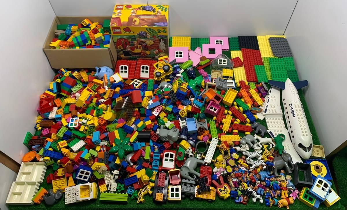 ♪11-160 レゴ LEGO デュプロ duplo ジャンク品 ディズニー Disney 飛行機 動物 住民 ブロック パーツ 部品 おもちゃ 玩具 まとめて 大量_画像1