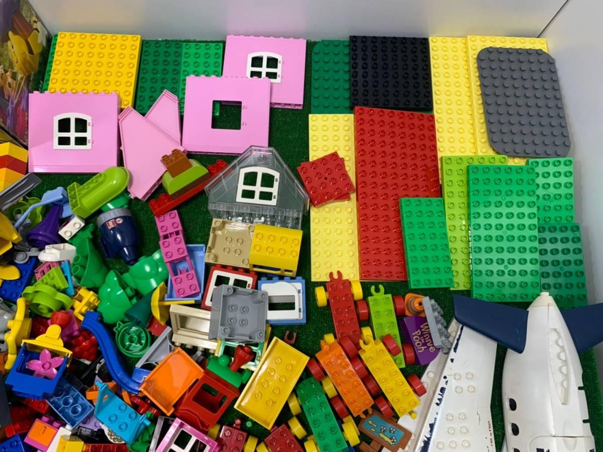 ♪11-160 レゴ LEGO デュプロ duplo ジャンク品 ディズニー Disney 飛行機 動物 住民 ブロック パーツ 部品 おもちゃ 玩具 まとめて 大量_画像3