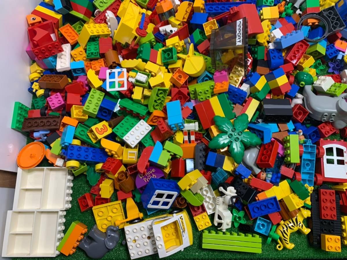 ♪11-160 レゴ LEGO デュプロ duplo ジャンク品 ディズニー Disney 飛行機 動物 住民 ブロック パーツ 部品 おもちゃ 玩具 まとめて 大量_画像6