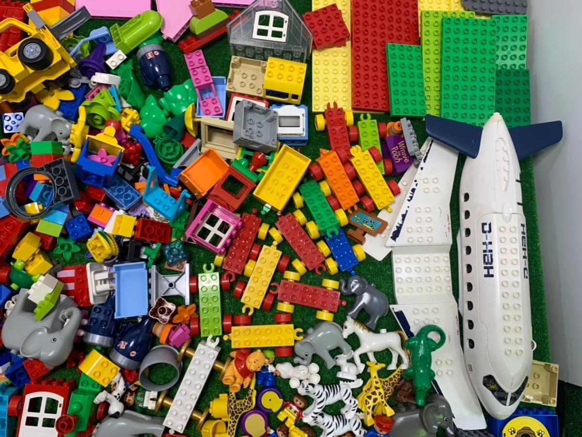 ♪11-160 レゴ LEGO デュプロ duplo ジャンク品 ディズニー Disney 飛行機 動物 住民 ブロック パーツ 部品 おもちゃ 玩具 まとめて 大量_画像5