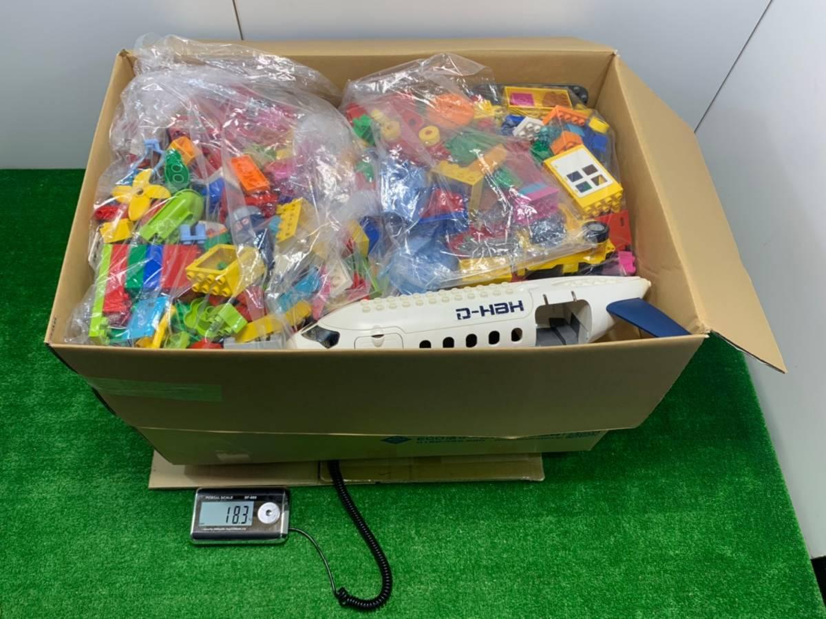 ♪11-160 レゴ LEGO デュプロ duplo ジャンク品 ディズニー Disney 飛行機 動物 住民 ブロック パーツ 部品 おもちゃ 玩具 まとめて 大量_画像9