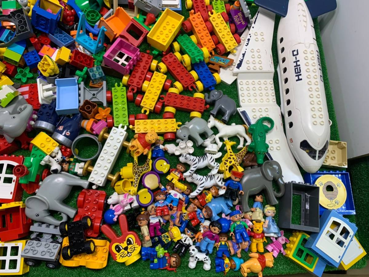 ♪11-160 レゴ LEGO デュプロ duplo ジャンク品 ディズニー Disney 飛行機 動物 住民 ブロック パーツ 部品 おもちゃ 玩具 まとめて 大量_画像7