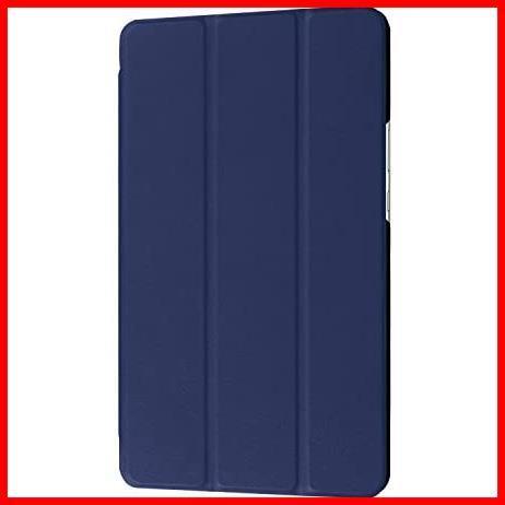 dtab Compact d-01J ケース MediaPad M3 8.4 ケース LeTrade スタンド 機能付き 三つ折 高級PUレザー 超薄型最軽量 傷つけ防止 保護ケース_画像6