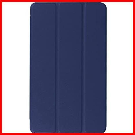 dtab Compact d-01J ケース MediaPad M3 8.4 ケース LeTrade スタンド 機能付き 三つ折 高級PUレザー 超薄型最軽量 傷つけ防止 保護ケース_画像2