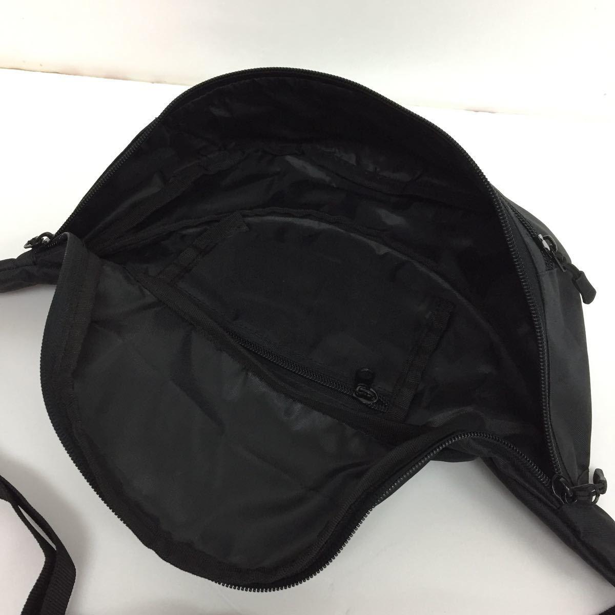 ウエストバッグ ボディバッグ ウエストポーチ ウエポ ボディーバッグ メンズ レディース 新品 黒 ブラック