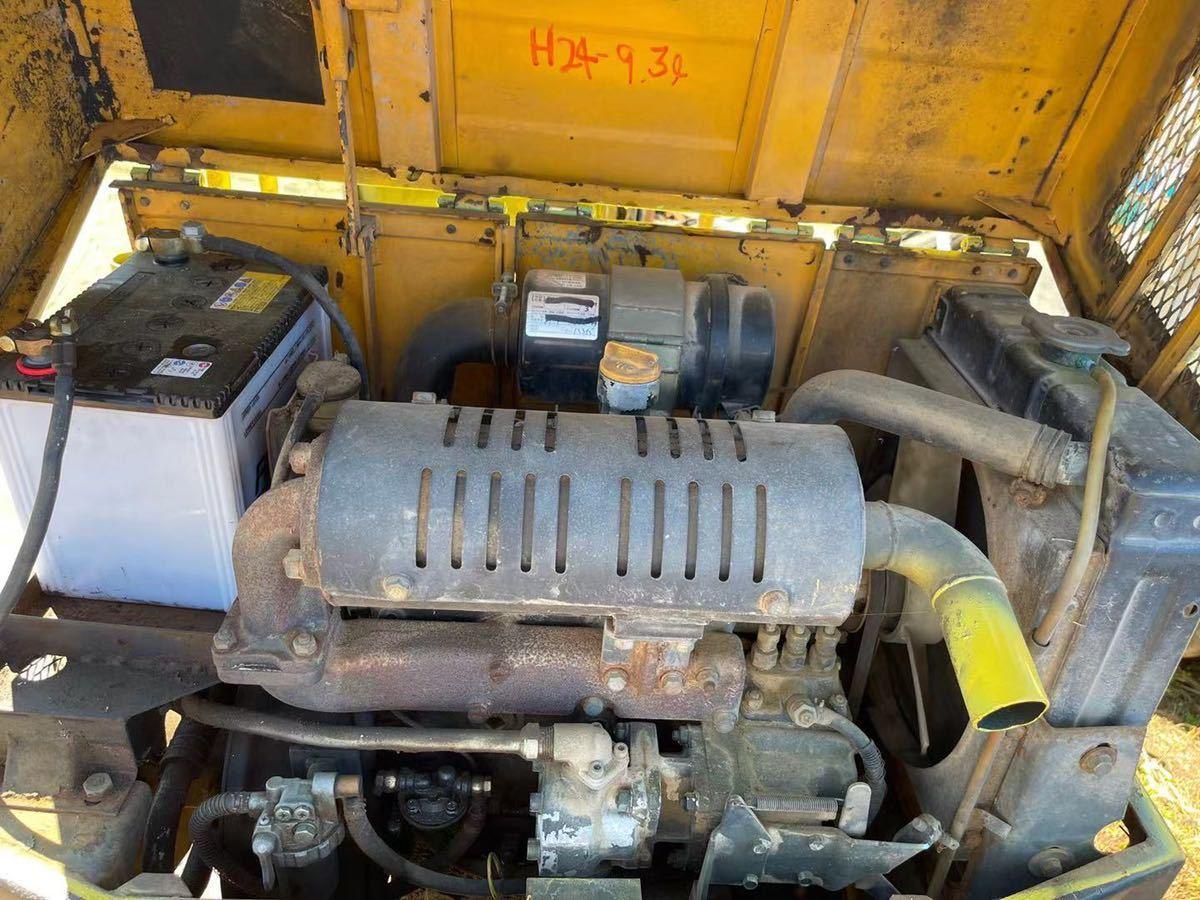 ヤンマー YB10 ミニユンボ 油圧ショベル _画像10