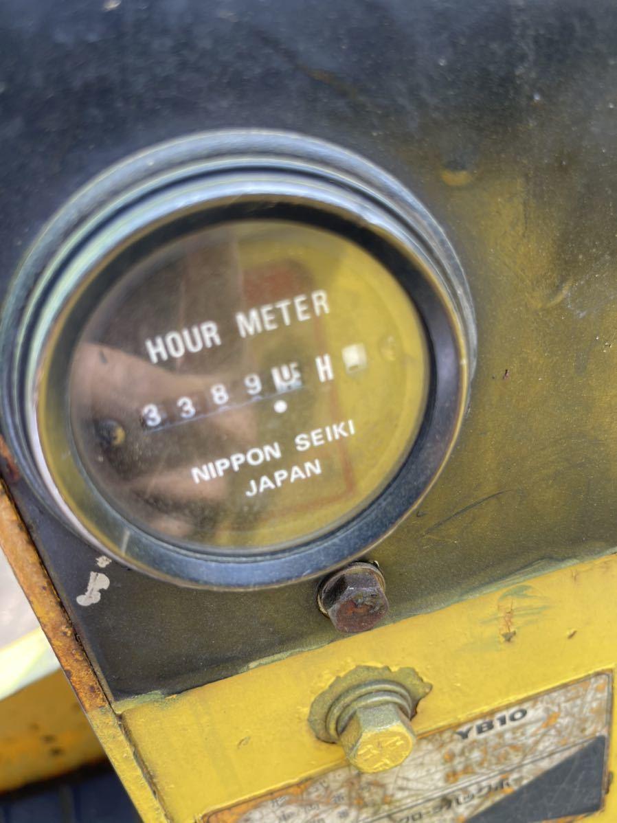 ヤンマー YB10 ミニユンボ 油圧ショベル _画像9