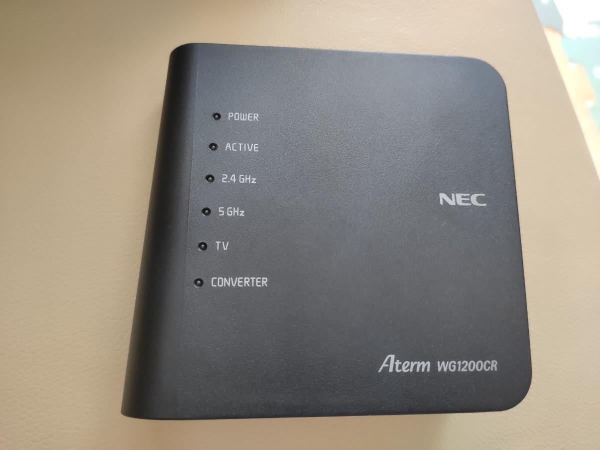 NEC PA-WG1200CR 無線LANルーター